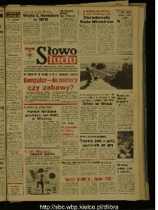 Słowo Ludu : dziennik Polskiej Zjednoczonej Partii Robotniczej, 1987 R.XXXVIII, nr 209