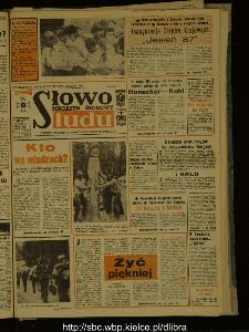 Słowo Ludu : dziennik Polskiej Zjednoczonej Partii Robotniczej, 1987 R.XXXVIII, nr 210 (magazyn środowy)