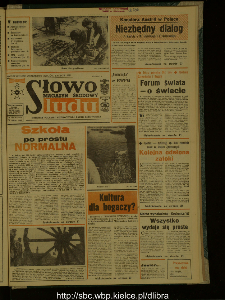 Słowo Ludu : dziennik Polskiej Zjednoczonej Partii Robotniczej, 1987 R.XXXVIII, nr 222 (magazyn środowy)