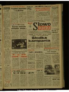 Słowo Ludu : dziennik Polskiej Zjednoczonej Partii Robotniczej, 1987 R.XXXVIII, nr 233