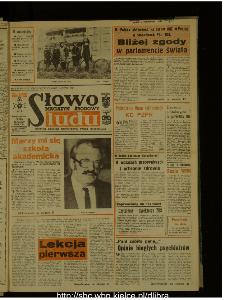 Słowo Ludu : dziennik Polskiej Zjednoczonej Partii Robotniczej, 1987 R.XXXVIII, nr 234 (magazyn środowy)