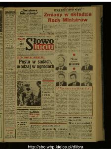 Słowo Ludu : dziennik Polskiej Zjednoczonej Partii Robotniczej, 1987 R.XXXVIII, nr 250
