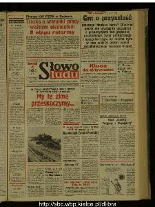 Słowo Ludu : dziennik Polskiej Zjednoczonej Partii Robotniczej, 1987 R.XXXVIII, nr 253