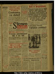 Słowo Ludu : dziennik Polskiej Zjednoczonej Partii Robotniczej, 1987 R.XXXVIII, nr 256