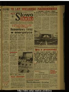 Słowo Ludu : dziennik Polskiej Zjednoczonej Partii Robotniczej, 1987 R.XXXVIII, nr 257