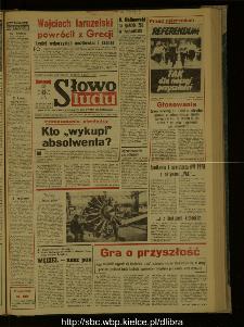 Słowo Ludu : dziennik Polskiej Zjednoczonej Partii Robotniczej, 1987 R.XXXVIII, nr 274