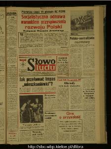 Słowo Ludu : dziennik Polskiej Zjednoczonej Partii Robotniczej, 1987 R.XXXVIII, nr 277