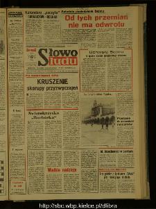 Słowo Ludu : dziennik Polskiej Zjednoczonej Partii Robotniczej, 1987 R.XXXVIII, nr 286