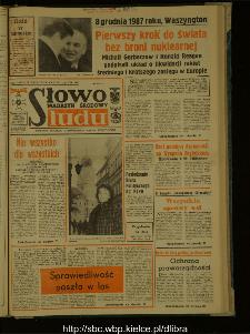Słowo Ludu : dziennik Polskiej Zjednoczonej Partii Robotniczej, 1987 R.XXXVIII, nr 288 (magazyn środowy)
