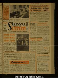Słowo Ludu : dziennik Polskiej Zjednoczonej Partii Robotniczej, 1988 R.XXXIX, nr 45 (magazyn środowy)