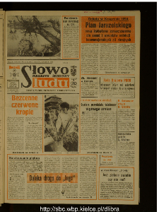 Słowo Ludu : dziennik Polskiej Zjednoczonej Partii Robotniczej, 1988 R.XXXIX, nr 79 (magazyn środowy)