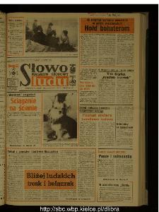 Słowo Ludu : dziennik Polskiej Zjednoczonej Partii Robotniczej, 1988 R.XXXIX, nr 91 (magazyn środowy)