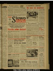 Słowo Ludu : dziennik Polskiej Zjednoczonej Partii Robotniczej, 1988 R.XXXIX, nr 133