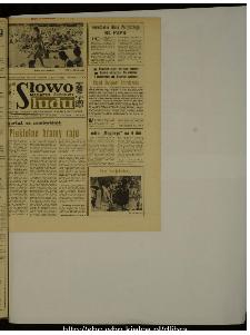 Słowo Ludu : dziennik Polskiej Zjednoczonej Partii Robotniczej, 1988 R.XXXIX, nr 168 (magazyn środowy)