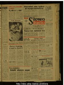 Słowo Ludu : dziennik Polskiej Zjednoczonej Partii Robotniczej, 1988 R.XXXIX, nr 171