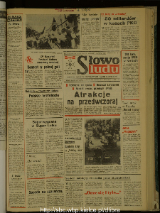 Słowo Ludu : dziennik Polskiej Zjednoczonej Partii Robotniczej, 1988 R.XXXIX, nr 191