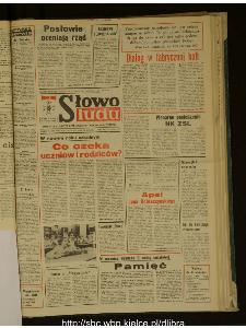 Słowo Ludu : dziennik Polskiej Zjednoczonej Partii Robotniczej, 1988 R.XXXIX, nr 203