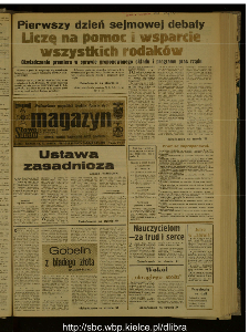 Słowo Ludu : dziennik Polskiej Zjednoczonej Partii Robotniczej, 1988 R.XXXIX, nr 240 (magazyn)