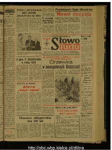 Słowo Ludu : dziennik Polskiej Zjednoczonej Partii Robotniczej, 1988 R.XXXIX, nr 249