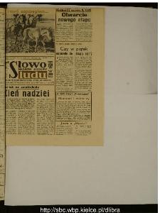 Słowo Ludu : dziennik Polskiej Zjednoczonej Partii Robotniczej, 1988 R.XXXIX, nr 250 (magazyn środowy)