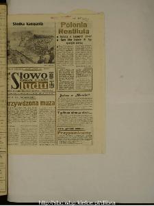 Słowo Ludu : dziennik Polskiej Zjednoczonej Partii Robotniczej, 1988 R.XXXIX, nr 260 (magazyn środowy)