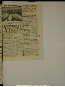 Słowo Ludu : dziennik Polskiej Zjednoczonej Partii Robotniczej, 1988 R.XXXIX, nr 272 (magazyn środowy)