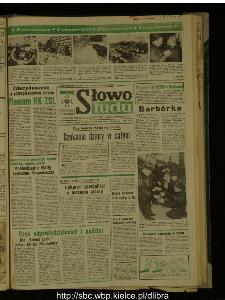 Słowo Ludu : dziennik Polskiej Zjednoczonej Partii Robotniczej, 1988 R.XXXIX, nr 281