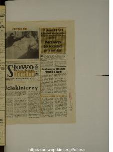 Słowo Ludu : dziennik Polskiej Zjednoczonej Partii Robotniczej, 1988 R.XXXIX, nr 296 (magazyn środowy)