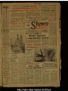 Słowo Ludu : dziennik Polskiej Zjednoczonej Partii Robotniczej, 1989 R.XL, nr 1