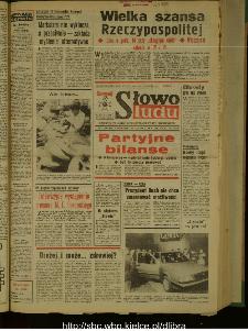 Słowo Ludu : dziennik Polskiej Zjednoczonej Partii Robotniczej, 1989 R.XL, nr 31
