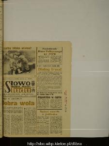 Słowo Ludu : dziennik Polskiej Zjednoczonej Partii Robotniczej, 1989 R.XL, nr 33 (magazyn środowy)