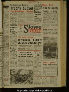 Słowo Ludu : dziennik Polskiej Zjednoczonej Partii Robotniczej, 1989 R.XL, nr 40
