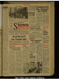 Słowo Ludu : dziennik Polskiej Zjednoczonej Partii Robotniczej, 1989 R.XL, nr 52
