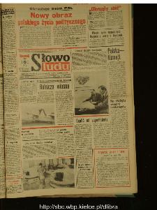 Słowo Ludu : dziennik Polskiej Zjednoczonej Partii Robotniczej, 1989 R.XL, nr 70