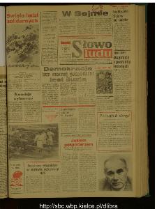 Słowo Ludu : dziennik Polskiej Zjednoczonej Partii Robotniczej, 1989 R.XL, nr 98