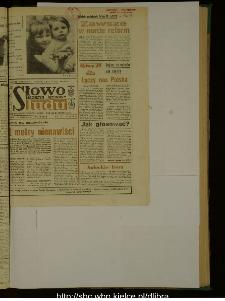Słowo Ludu : dziennik Polskiej Zjednoczonej Partii Robotniczej, 1989 R.XL, nr 125 (magazyn środowy)