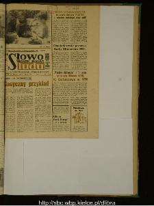 Słowo Ludu : dziennik Polskiej Zjednoczonej Partii Robotniczej, 1989 R.XL, nr 137 (magazyn środowy)