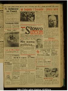 Słowo Ludu : dziennik Polskiej Zjednoczonej Partii Robotniczej, 1989 R.XL, nr 156