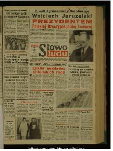 Słowo Ludu : dziennik Polskiej Zjednoczonej Partii Robotniczej, 1989 R.XL, nr 168