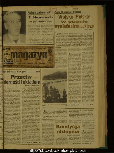 Słowo Ludu : dziennik Polskiej Zjednoczonej Partii Robotniczej, 1989 R.XL, nr 196 (magazyn)