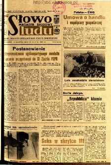 Słowo Ludu : dziennik Polskiej Zjednoczonej Partii Robotniczej, 1989 R.XL, nr 218 (magazyn środowy)