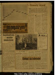 Słowo Ludu : dziennik Polskiej Zjednoczonej Partii Robotniczej, 1989 R.XL, nr 250 (magazyn)
