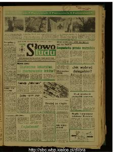 Słowo Ludu : dziennik Polskiej Zjednoczonej Partii Robotniczej, 1989 R.XL, nr 251
