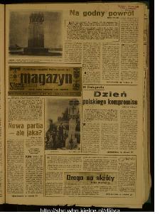 Słowo Ludu : dziennik Polskiej Zjednoczonej Partii Robotniczej, 1989 R.XL, nr 261 (magazyn)
