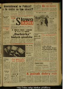 Słowo Ludu : dziennik Polskiej Zjednoczonej Partii Robotniczej, 1989 R.XL, nr 281