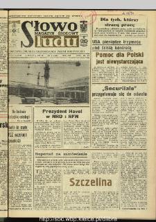 Słowo Ludu : dziennik Polskiej Zjednoczonej Partii Robotniczej, 1990 R.XLI, nr 2 (magazyn środowy)