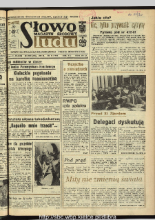 Słowo Ludu : dziennik Polskiej Zjednoczonej Partii Robotniczej, 1990 R.XLI, nr 8 (magazyn środowy)