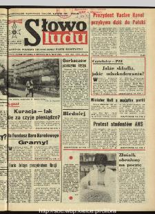 Słowo Ludu : dziennik Polskiej Zjednoczonej Partii Robotniczej, 1990 R.XLI, nr 21