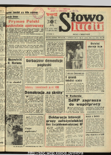 Słowo Ludu : dziennik Polskiej Zjednoczonej Partii Robotniczej, 1990 R.XLI, nr 27