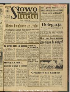 Słowo Ludu : dziennik Polskiej Zjednoczonej Partii Robotniczej, 1990 R.XLI, nr 74 (magazyn środowy)